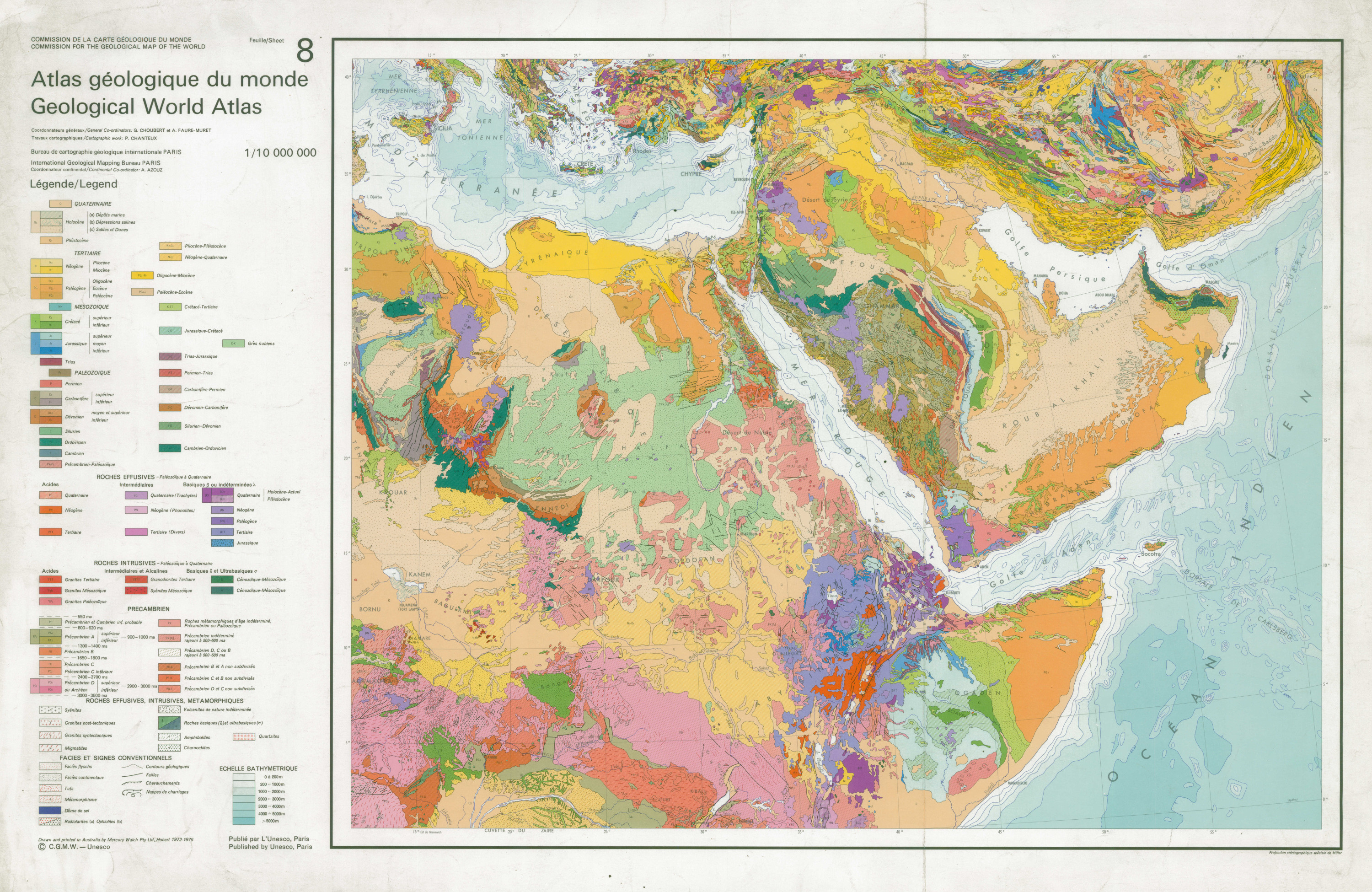 Bnu cd atlas geologique du monde geological world atlas gumiabroncs Image collections